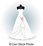 wedding dress EPS Vectorsby ...