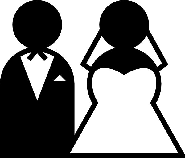 Wedding Gown Clip Art - Clipart library