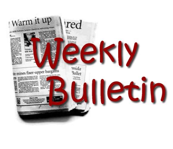 Weekly Bulletin Clip Art