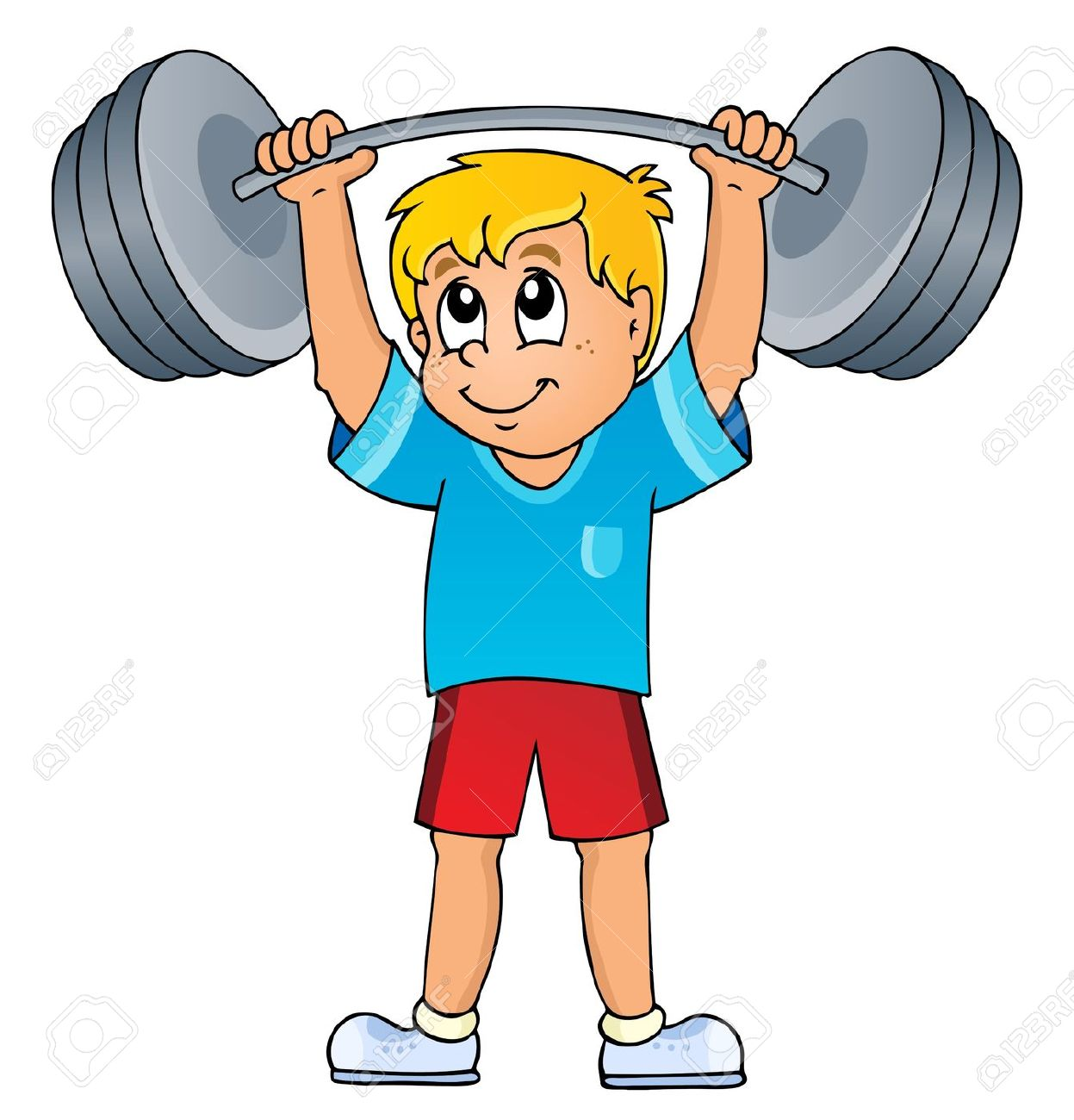 weight lifting: Sport and gym .