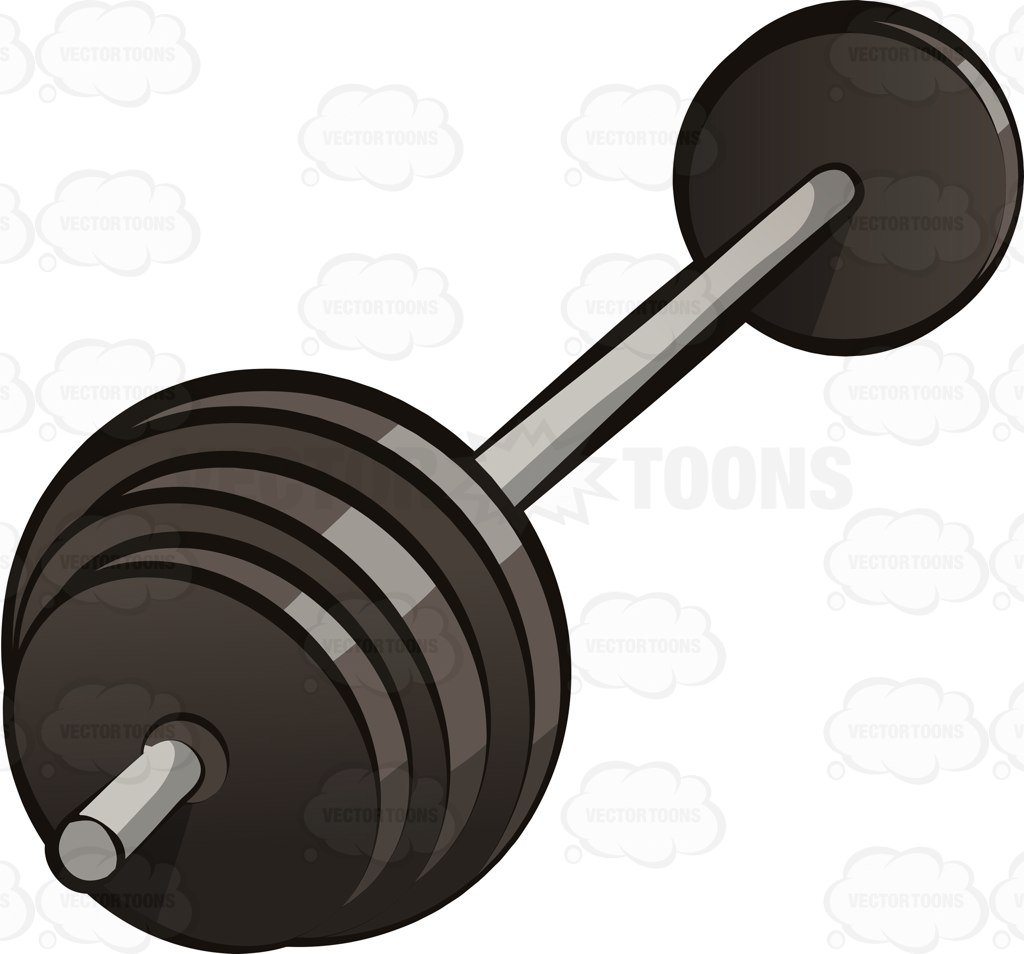 An Olympic weight set