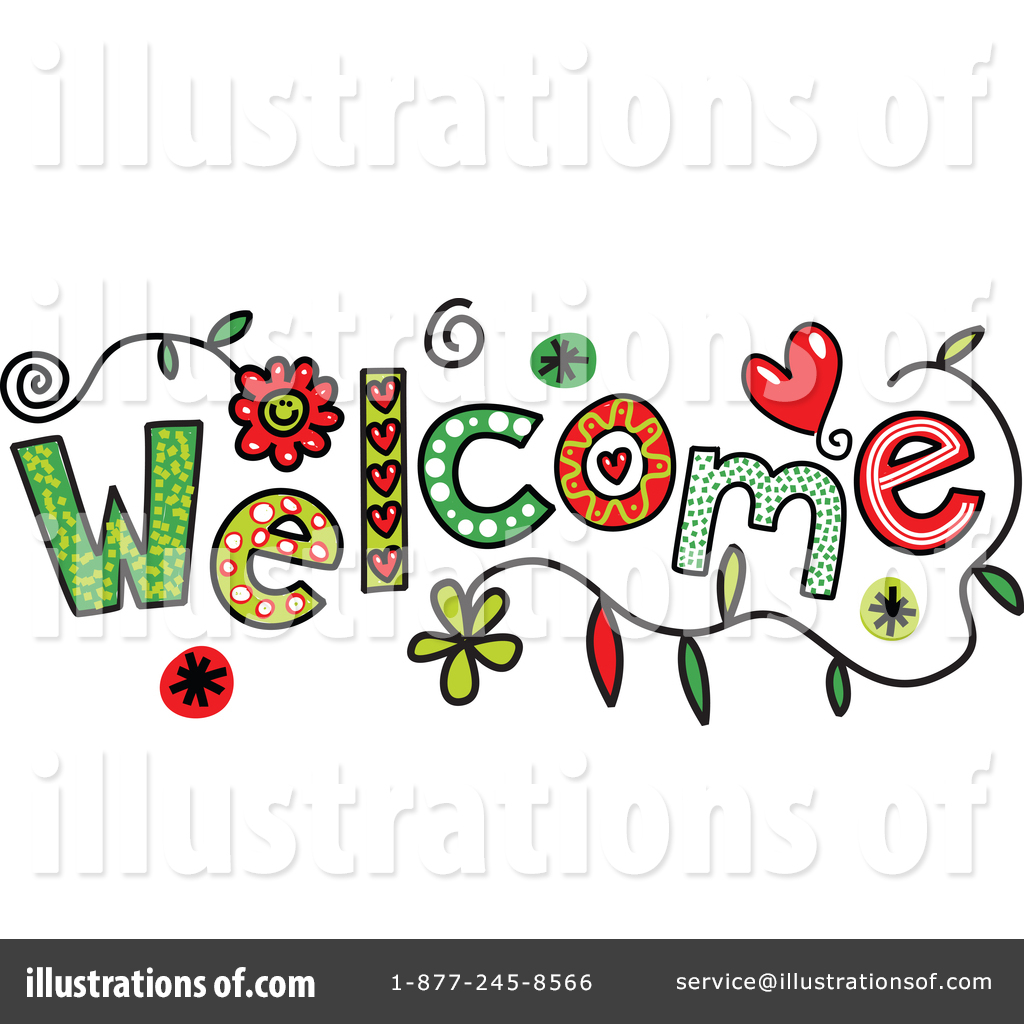Royalty-Free (RF) Welcome Clipart Illustration #1341351 by Prawny