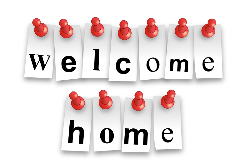 Latest Welcome Home Clip Art