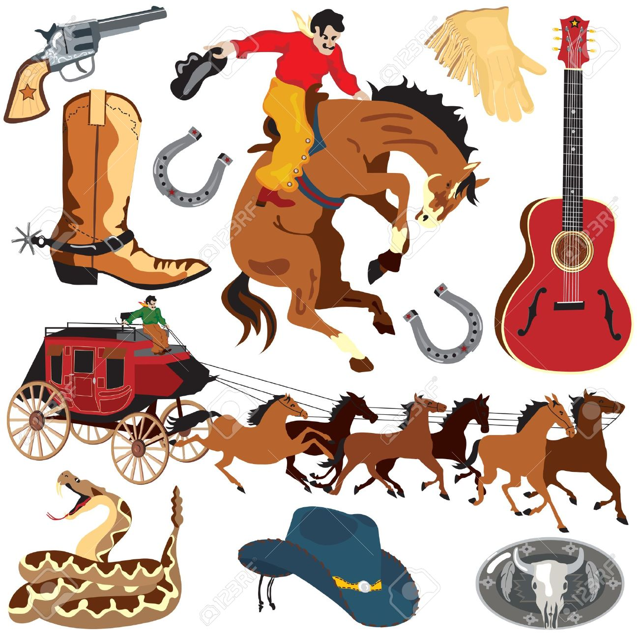 Free Western Clipart - Western Clipart