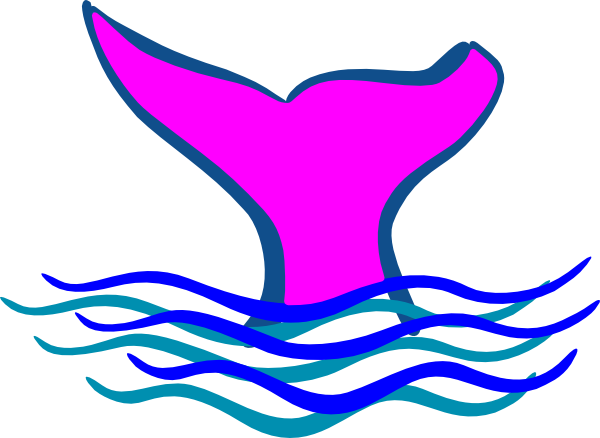 Whale Tail Clip Art At Clker Com Vector Clip Art Online Royalty