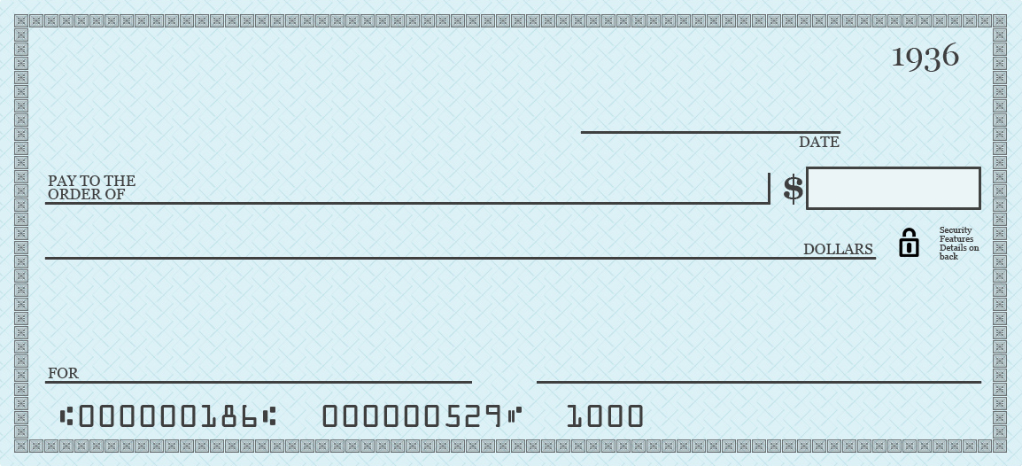 What You Ll Need Blank Check Template Included As A Set Of 3 On A