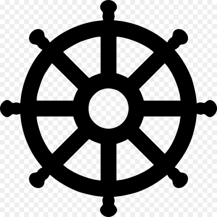 Computer Icons Dharmachakra Clip art - Wheel of Dharma