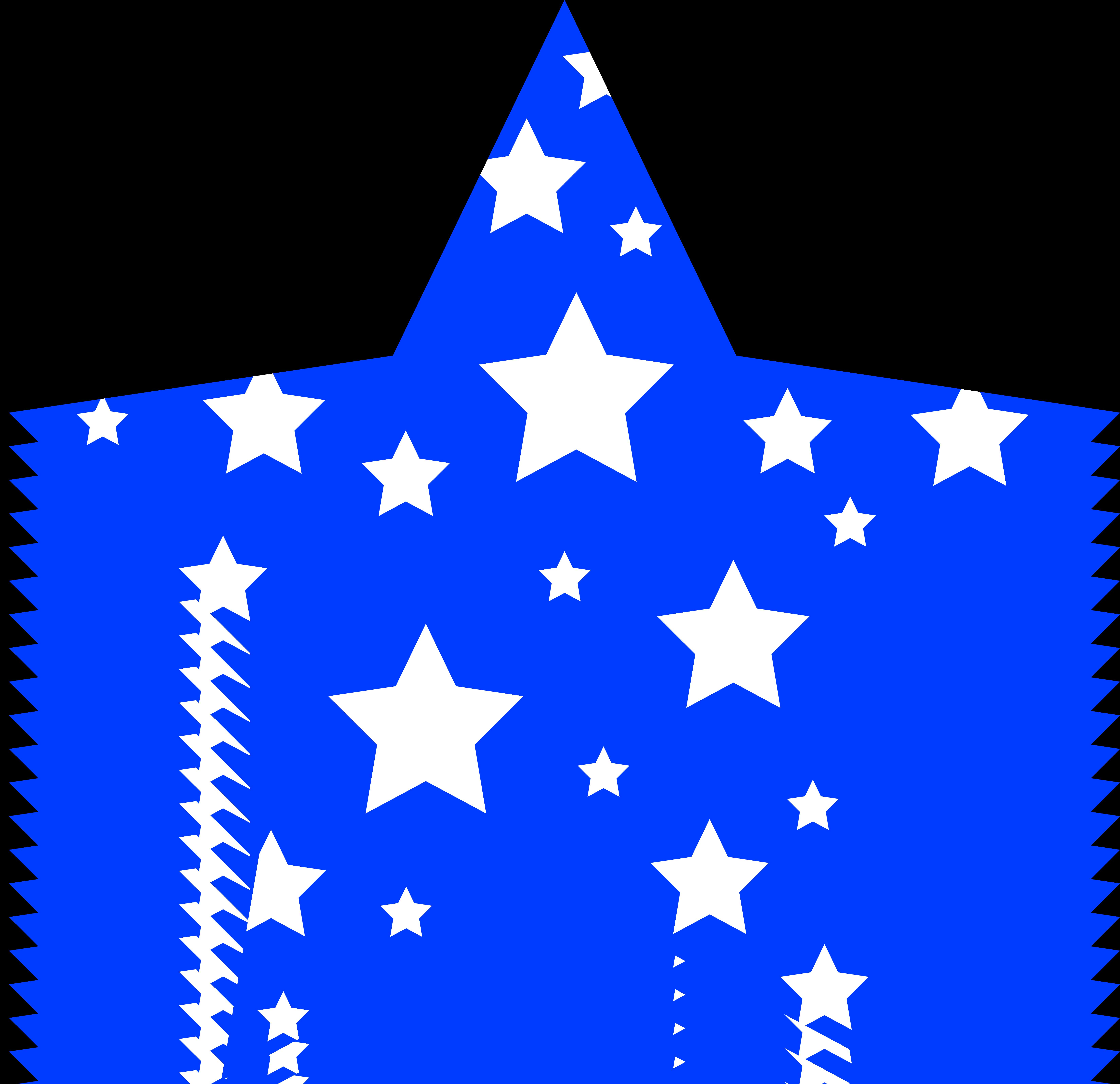 white stars clipart
