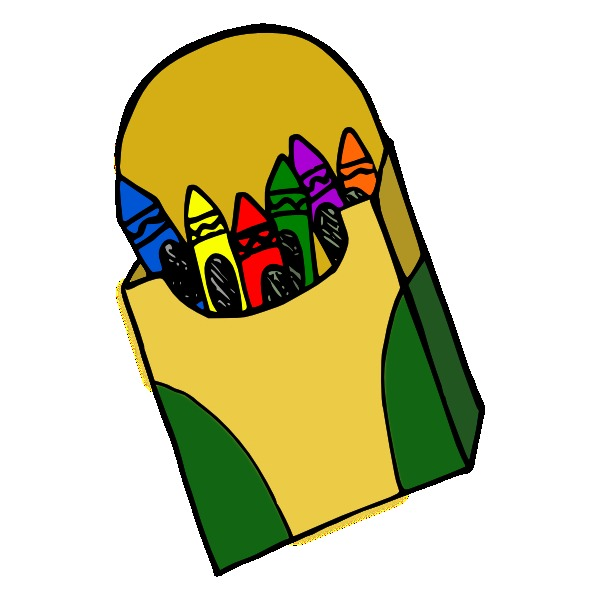 White Crayon Clip Art   Clipart library - Free Clipart Images