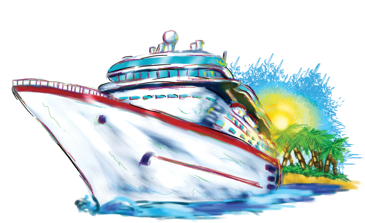 White Cruise Ship PNG Clipart. 9c6a008d1d323aaaf619cc7a6eeca6 .