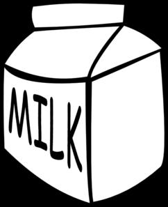 White Milk Clipart