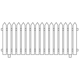 White Picket Fence Clipart Cliparts Of White Picket Fence Free