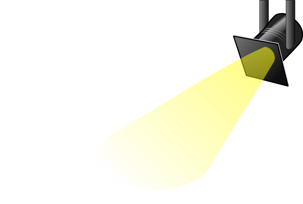 White spotlight clip art at vector clip art clipartbold 2