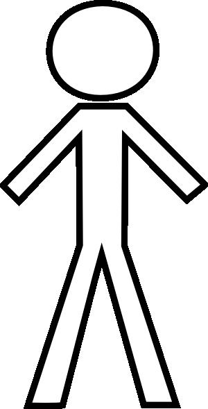 White Stick Figure Clip Art At Clker Com Vector Clip Art Online