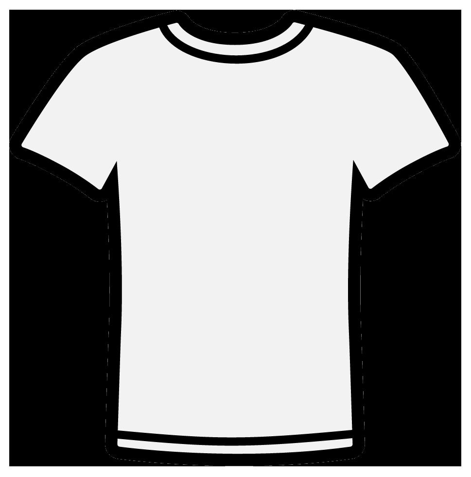 White T Shirt Clip Art Cliparts Co