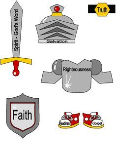 whole armor of god clipart .