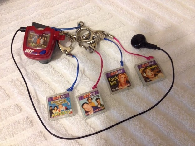 Whose turn it was to use the HitClip, since it only had a singular headphone.