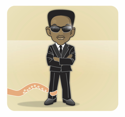 Cartoon: Will Smith (medium) by Nicoleta Ionescu tagged will,smith