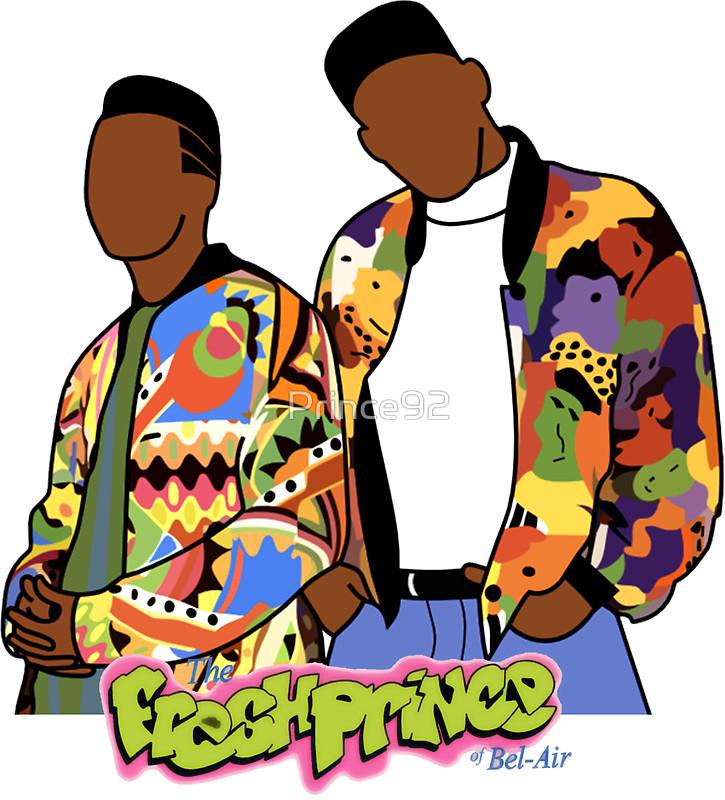 Fresh prince clipart