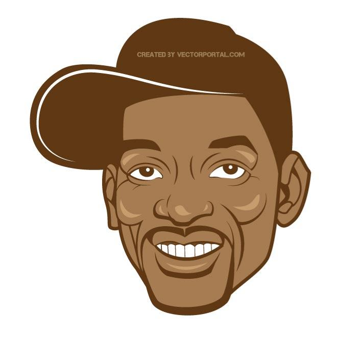 VECTOR PORTRAIT OF WILL SMITH