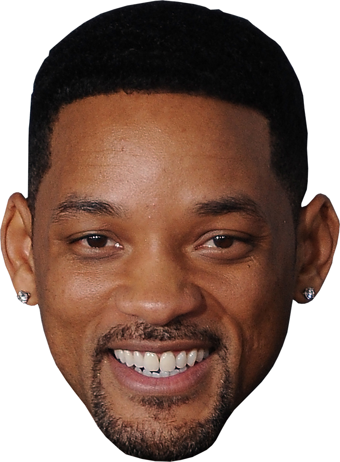 Will smith face PNG image