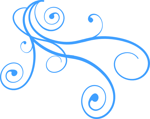Curly Wind Clip Art at Clker  - Wind Clipart
