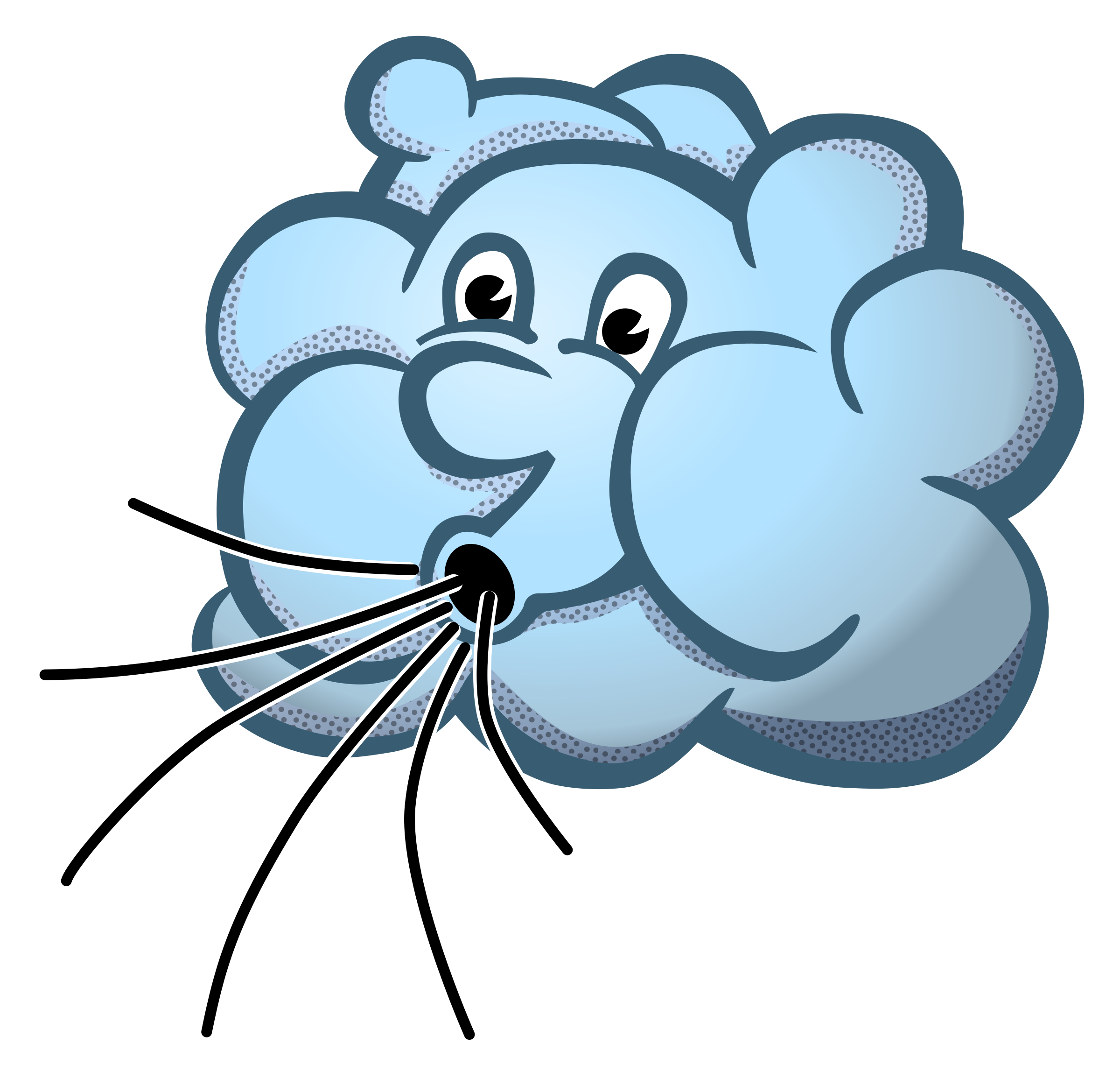 Tree clipart wind blowing #3