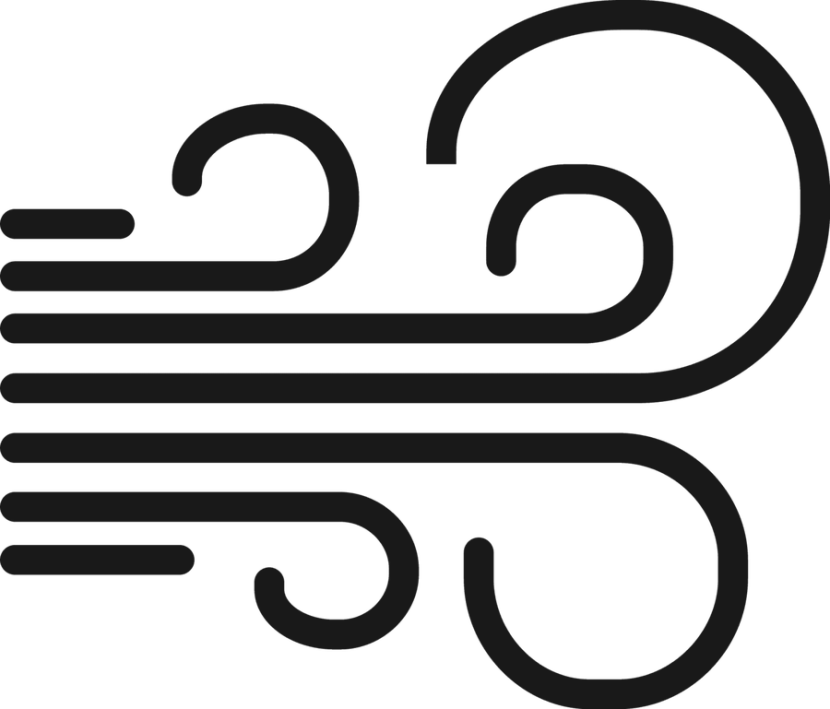 Wind Clipart Forecast Icon Line Icon Weather Wind Windy