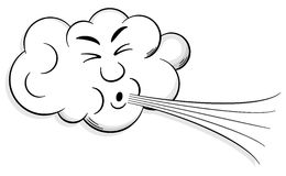 Wind clipart wind cloud #5
