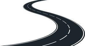 Winding Road Stock Illustrations Vectors Clipart Dreamstime
