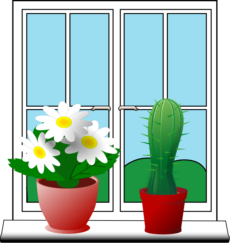 Window free to use cliparts