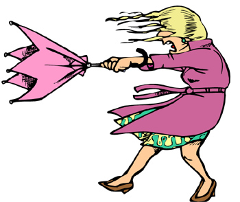 windy clipart