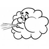 Windy Cloud Clip Art