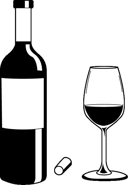 Wine bottle gallery for clip .