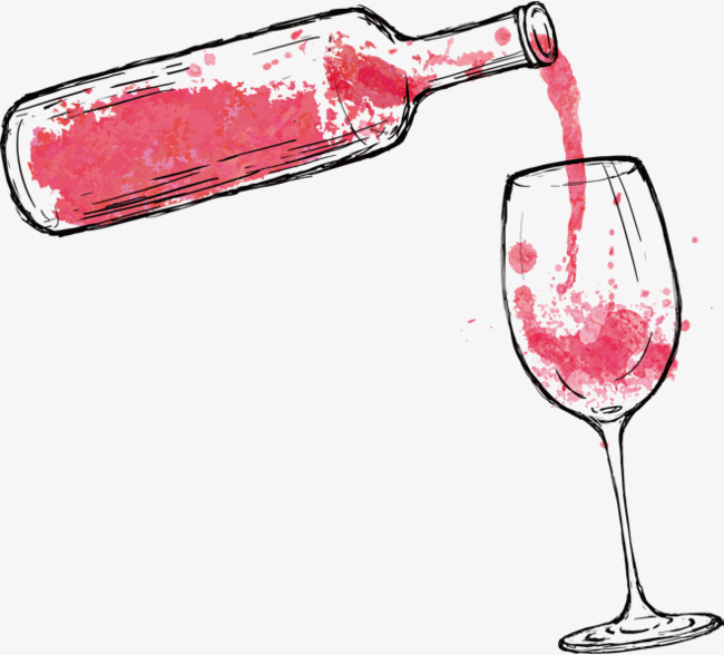 cartoon red wine, Cartoon Clipart, Wine Clipart, Red Wine PNG Image and  Clipart