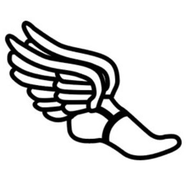 Wingedfoot image - vector clip art online, royalty free public. Free track and field vector ...