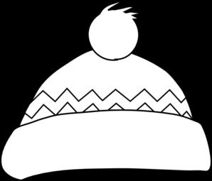 Winter Hat Outline Clip Art At Clker Com Vector Clip Art Online