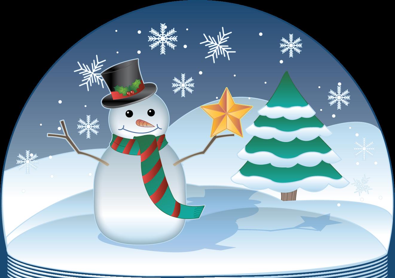 Winter holiday scene clipart clip art free clip art microsoft clip