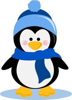 Winter Penguin Clip Art .. - Winter Clip Art