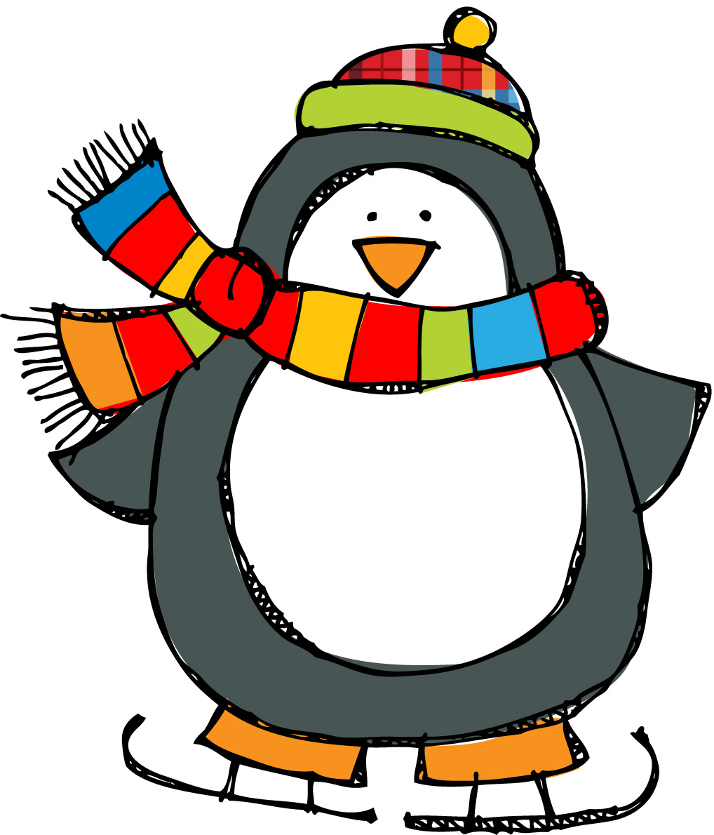Winter Penguin Clipart Clipart .