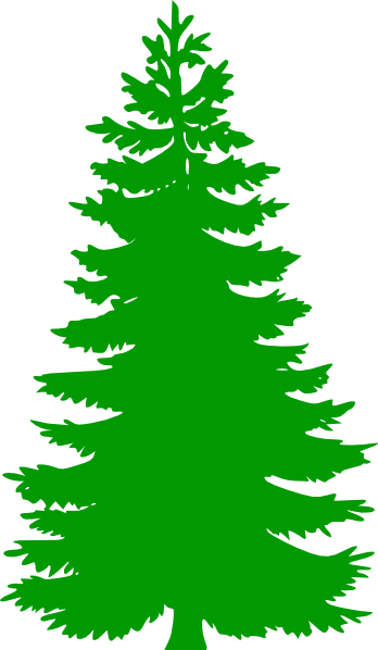 Winter Pine Trees Clipart Pine Tree Clip Art1 Png