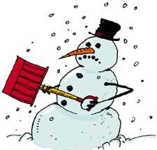 Winter Snow Storm Clipart