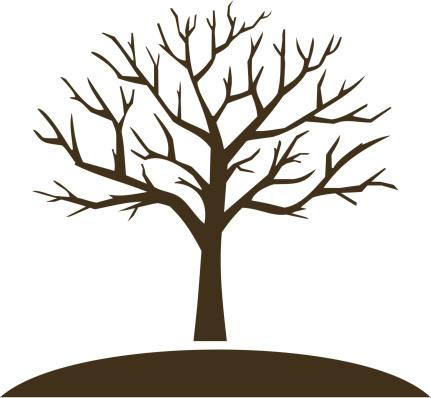 Winter Tree Clipart 08