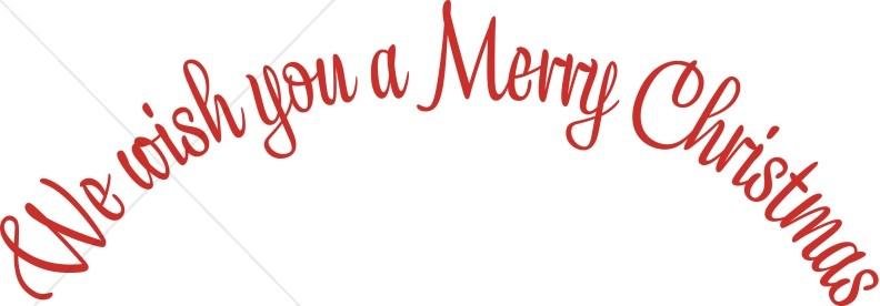 Wish Merry Christmas Wordart Christmas Alphabets Wordart