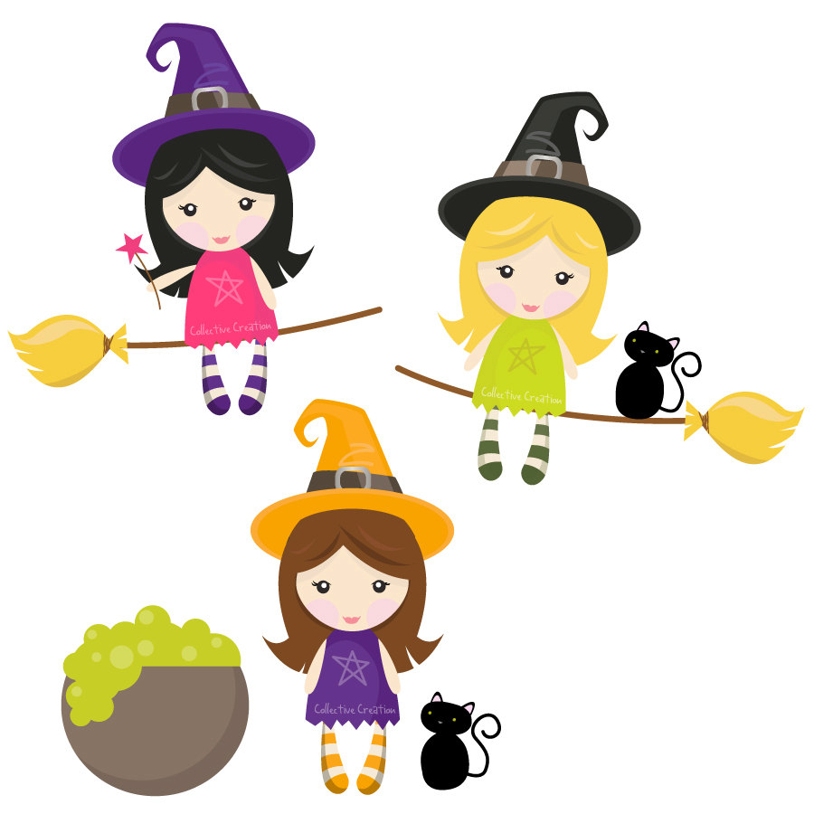 Witch clipart image