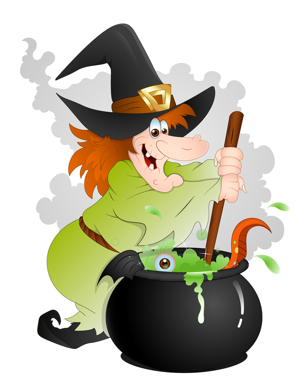 Witches clip art clipart image