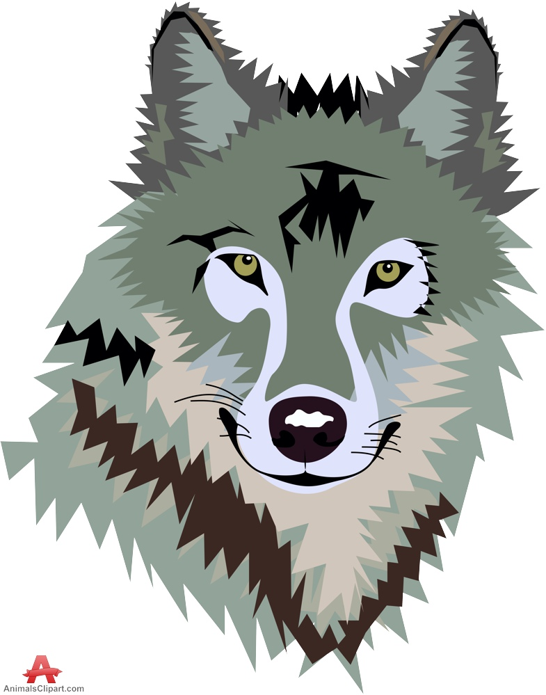 Wolf animals clipart of wolve - Wolf Clipart