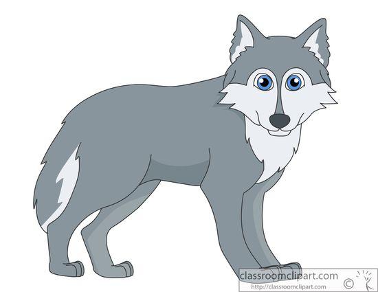 Wolf Clip Art 1