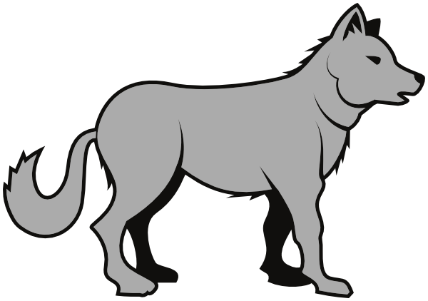 Wolf Clipart 15