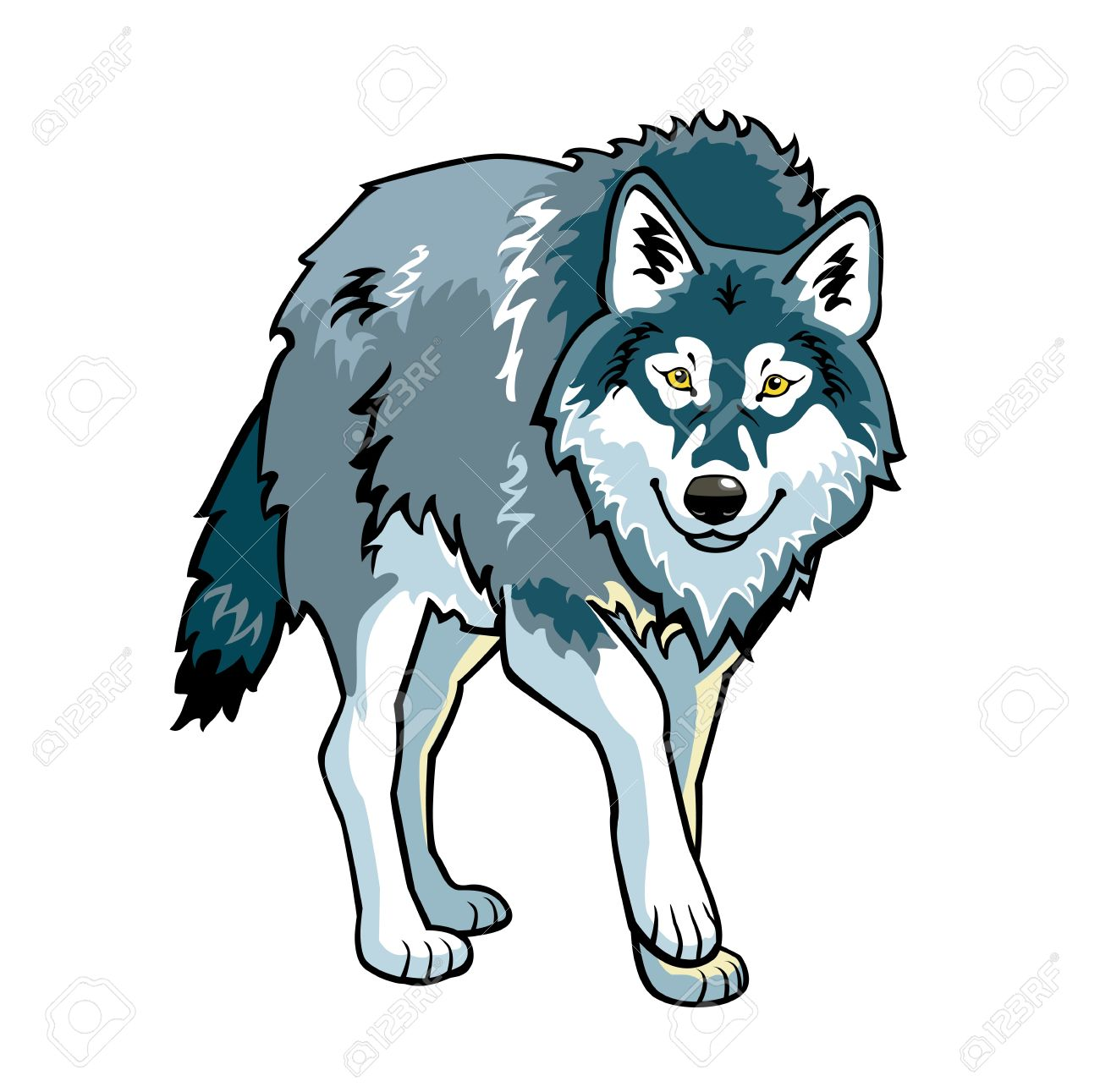 Wolf Clipart #26232